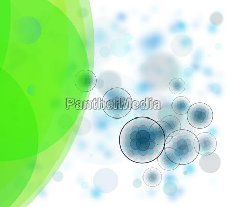 estructuras de enzimas celulares abstractas