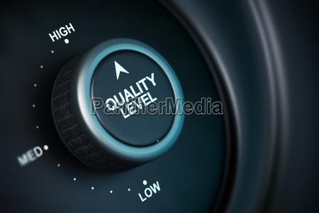 alto nivel de gestion de calidad