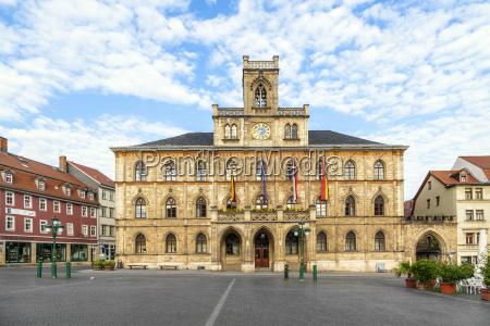 town hall weimar in germany unesco