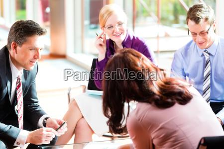 reunion de negocios en una oficina