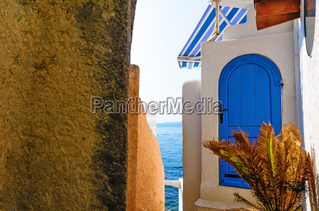 casa construccion de agua mediterraneo de