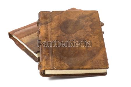libro precioso con cuero noble y