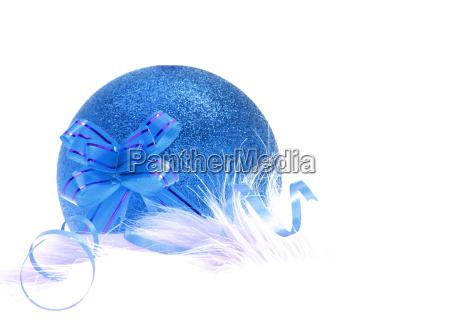 azul fiesta ornamento decoracion anyo nuevo