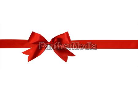 cinta roja con arco