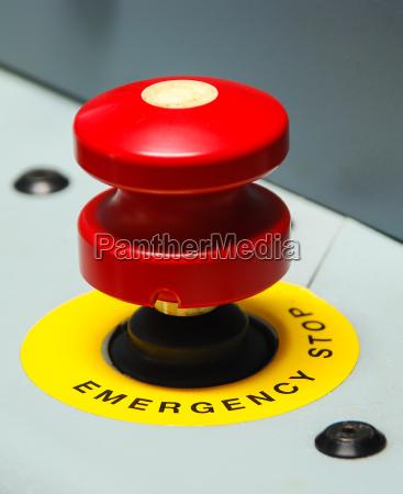 boton urgencia emergency red buttons notfallschild