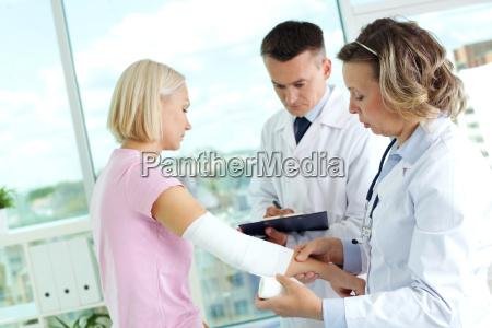 tratamiento del paciente