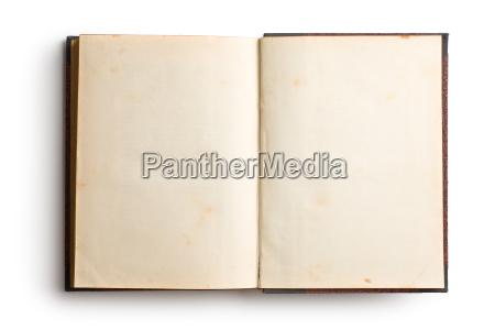 viejo libro abierto