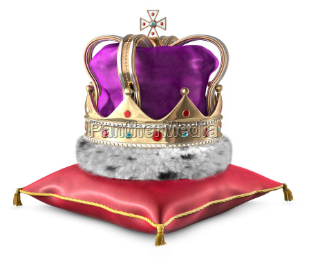 corona y almohada