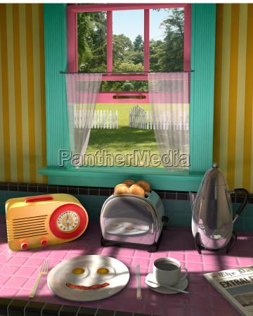 ilustracion del desayuno