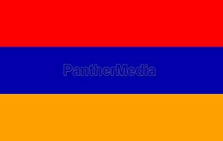 azul simbolico ilustracion bandera armenia pais