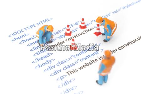 sitio web en construccion