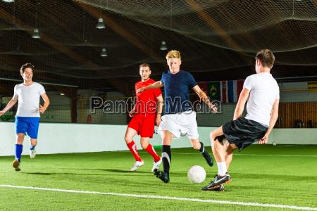 el equipo juega futbol sala