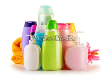 las botellas de plastico de cuidado