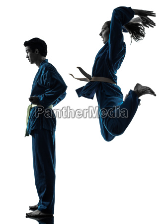 karate vietvodao marciales artes hombre pareja