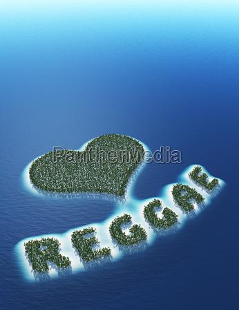 reggae love island concept 3