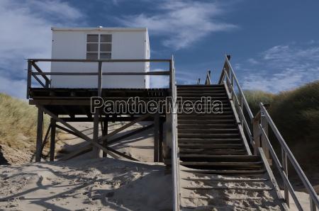 casa de portero de playa en