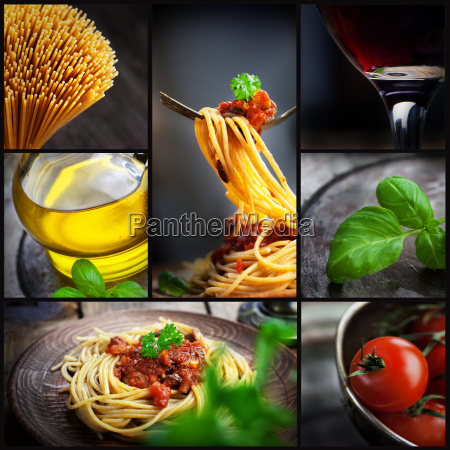 collage de las pastas