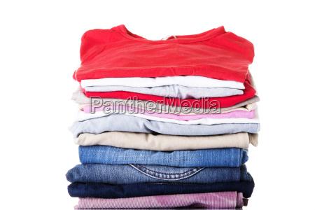 pila de ropa