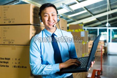 servicio al cliente en el almacen