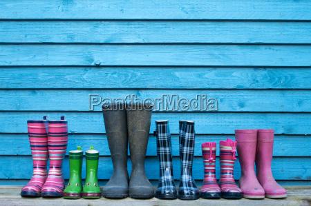 botas de goma