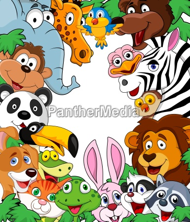 historieta animal de fondo