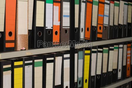 diferentes carpetas de archivos