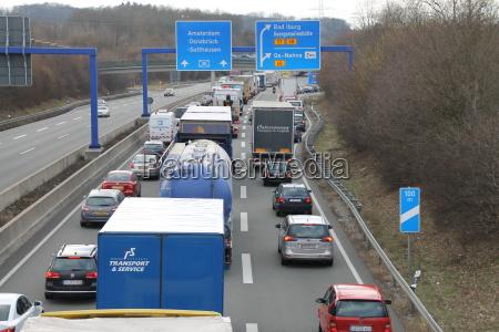 la congestion en la a30
