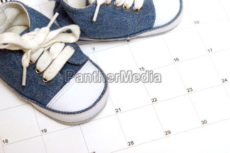 esperar espera azul nacimiento nacido disenyo