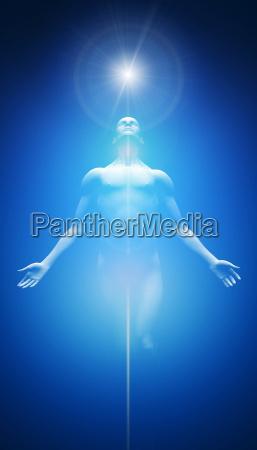 transformacion blanco azul claro