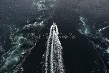 noruega atlantico de agua salada mar