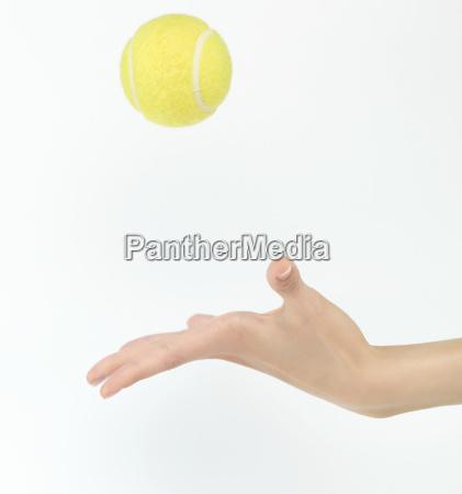 pelota de tenis vomitar
