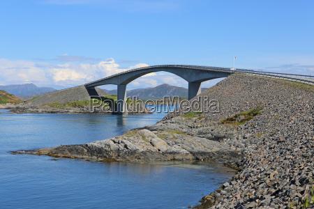 atlanterhavsvegen atlantic road en noruega