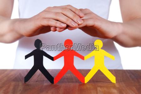 manos la proteccion de las personas
