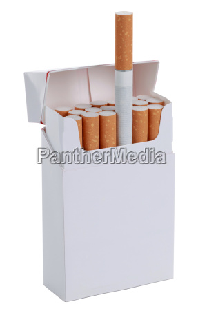 open pack of cigarettes released