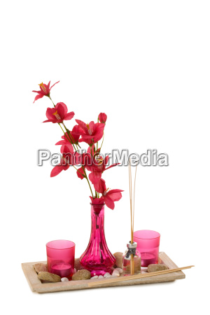 fragrant table decoration