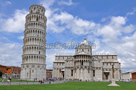 la torre de pisa y de