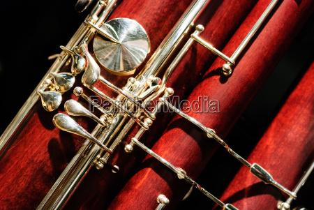 instrumento de viento de madera de