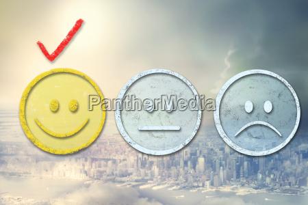 risilla sonrisas ciudad disenyo cara triste