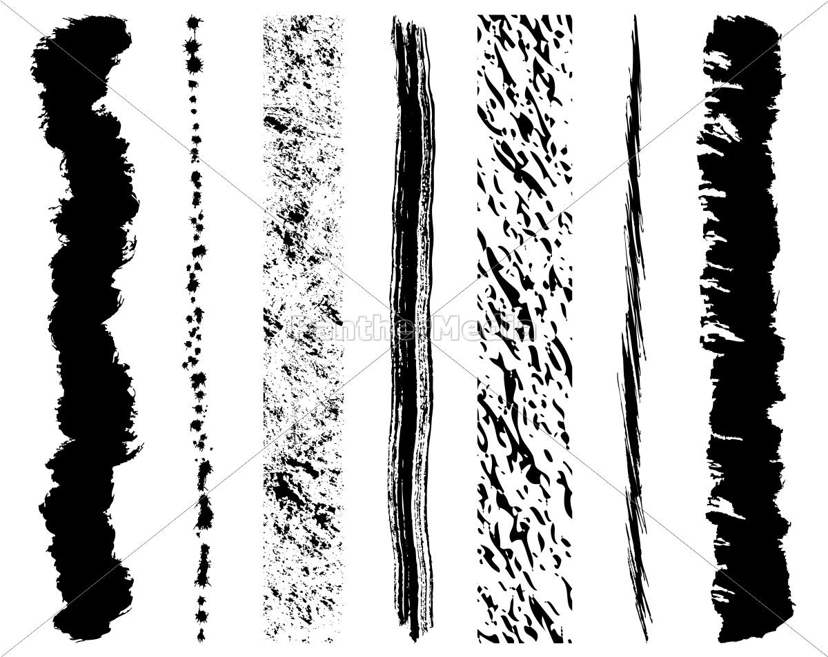 conjunto, de, trazos, de, pincel, de - 9481334