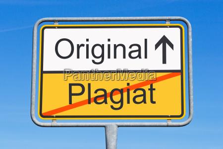 plagio y original