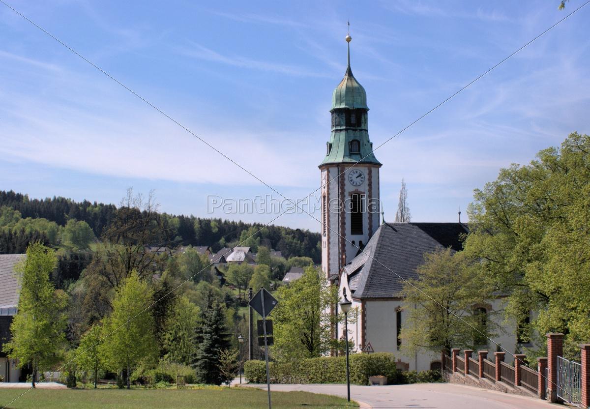 una, iglesia, en, el, erzgebirge - 9517326