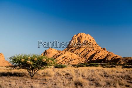 desierto parque nacional africa namibia rocas