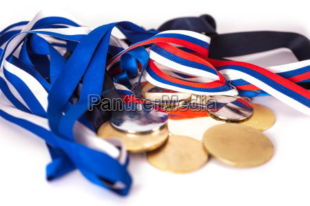 medallas para ganadores