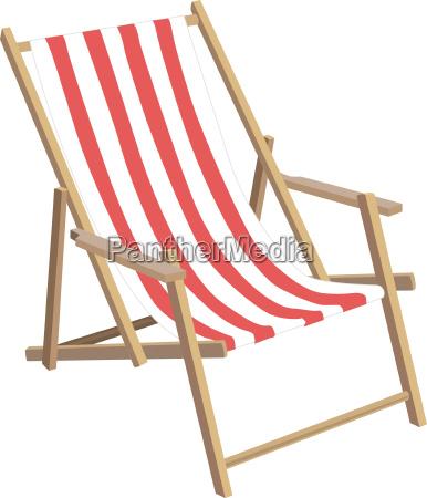 tumbona silla de sol vacaciones vacaciones