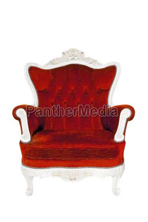 silla liberado elegancia cosecha aislado sofa