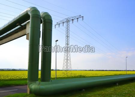 suministro de energia de una ciudad