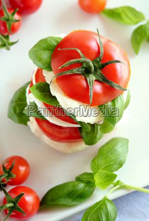 sano tomate mozzarella
