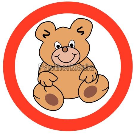 senyal opcional oso peluche oso de