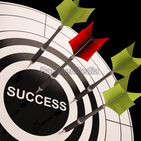 en el exito diana muestra objetivos