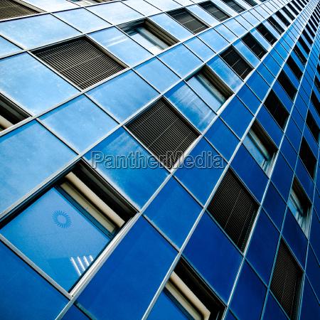 azul torre ciudad ventana estilo de